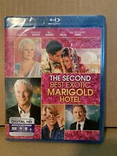 The Second Best Exotic Marigold Hotel Blu-Ray Gere Dench Brand New Sealed Mint