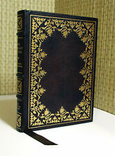 THE SCARLET LETTER, Nathaniel Hawthorne, Leather, Illustrated   Book