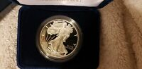 US 2013 ONE-OUNCE .999 FINE SILVER PROOF AMERICAN EAGLE in ORIGINAL BOX with COA