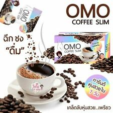 OMO Coffee Slim Weight Loss Fit & Firm Q10 Zinc Vitamin C 10 Sachets New