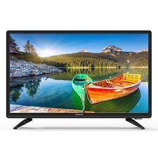 22 Inch Class Full HD TV Black HDMI USB 1080P LED Backlit 120 Hz Refresh New