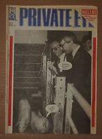 PRIVATE~EYE~VINTAGE~MAGAZINE~FRIDAY~28TH~SEPTEMBER~1990~No~751~a~POLITICS~SATIRE