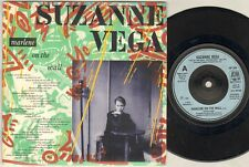 """SUZANNE VEGA Marlene On The Wall  7"""" Ps, B/W Small Blue Thing-Live, Am 309"""
