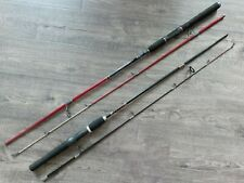 Lot of 2 Vintage 2Pc Spinning Rods Bass Pro Shops Brawler & Rhino Indestructible