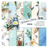 "12stk 6"" Öllampe Winter Paper Hintergrund DIY Scrapbooking Origami Card Making"