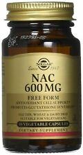 Solgar NAC 600 mg Vegetable Capsules 30 V Caps 600 mg