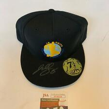 J.R. Smith Signed Autographed Fitted Hat Cap With JSA COA