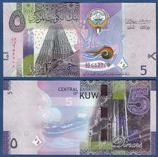 KUWEIT / KUWAIT 5 Dinars ( 2014 ) UNC  P. NEW