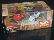 Rod & Custom Magazine 2 Car Set Hot Wheels Collectibles Limited Edition