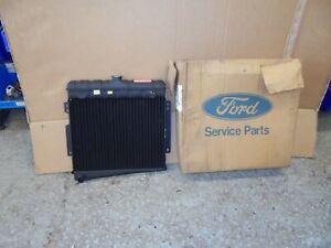 Ford Capri mk1 V6 And Taunus Radiator N.O.S      Brand New Genuine Ford