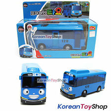 The Little Bus TAYO Diecast Metal Mini Bus Car Toy Blue Tayo Model Pull Back
