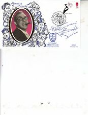 KEN DODD HAND SIGNED HEROES OF COMEDY FDC FEATURING ERIC MORECAMBE