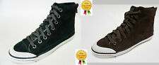 NEW Coach womens FATIMA Kid suede Hi-Top back zip sneakers shoes 5.5 6  8.5