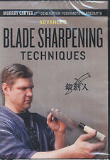 Advanced Blade Sharpening Techniques, Murray Carter (DVD) / Knives