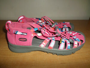 NEW no box Keen Girls Youth Size 5 Pink Waterproof Sport Sandals - Fast Shipping