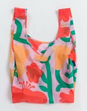 Nwt Baggu Standard Reusable Bag Pop Flower Print Sold Out Everywhere holds 50lbs