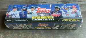 2020 TOPPS BASEBALL SEALED SERIES 1 + 2 COMPLETE SET 1-700 + 5 VARIATION PACK