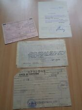More details for ww2 (1944-1945) german & french documents - one woman's fascinating story.