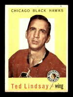 1959 Topps #6 Ted Lindsay  VGEX X1416837