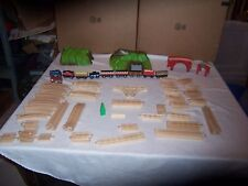 84 Pc Brio Wooden Train Track Thomas The Tank Engine Loader Wood Lot Mountain
