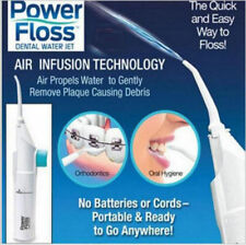 Oral Power Floss Dental Water Jet Seen on TV Air Power Cords Tooth Pick Braces