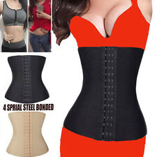 Slimming Waist Training Sport Cincher Body Shaper Under bust Corset Belly Belt