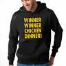 Winner Winner Chicken Dinner Nerd Gamer Geek Fun Kapuzenpullover Hoodie Sweater