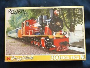 Puzzlebug 300 Piece Puzzle Steam Locomotive At The Station Complete