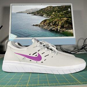 Nike SB Nyjah Free Photon Dust Vivid Purple Size 13 AA4272 007