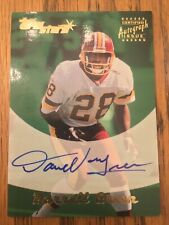 2000 Topps Stars DARRELL GREEN Auto Autograph! On-card! Redskins! TOUGH! Read!