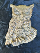 Owl Drug Store Solid Brass Owl Advertising Display