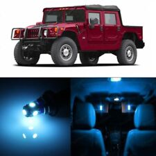 16 x Ice Blue LED Interior Light Package For 2002 - 2006 Hummer H1 + PRY TOOL