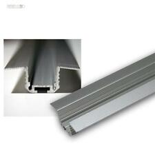 1m Aluminium corner-T-profile for LED Stripes, eloxiert Aluprofil profile T