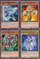 Elemental HERO Bubbleman SDHS-EN012 1st + Heat + Necroshade + Neos yugioh