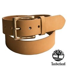 NWT Timberland Men's Boot-Leather Belt 38 mm Classic Premium Wheat Size 38