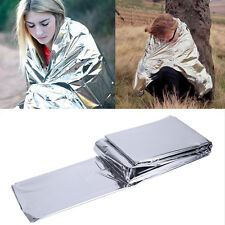 Outdoor Emergency Insulation Blanket Camping Tent First Aid Survival Pop.
