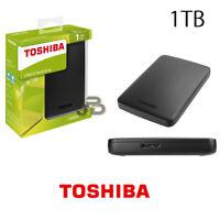 HARD DISK ESTERNO 1TB 2,5 TOSHIBA USB 3.0/2.0 HARDISK 1000GB MAC OS APPLE / WIN