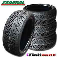 4 Federal SS-595 Tires 235/40R17 90V 240AA Ultra High Performance 235/40/17 New