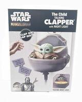 Star Wars Mandalorian The Child Baby Yoda Grogu Talking Clapper w/ Night Light