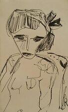 Très beau Dessin expressionniste