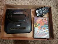 Sega Genesis Model 2 MK-1631 - Console ONLY & Sega 3020 Controller, Sonic 2 Game