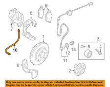VW VOLKSWAGEN OEM 98-05 Passat Front Brake-Flex Hose 3U0611707