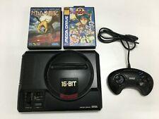 Sega Mega Drive console Japan Genesis + Controller + 2 Games Japan Import #472