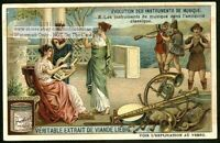 Musical Instruments Ancient Greek and Roman 1910 Trade Ad Card