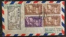 1935 Manila Philippines First Contract Flight Cover FFC to Washington DC USA