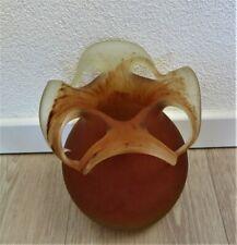 Glazen vaas Kralik Era apart ontwerp.