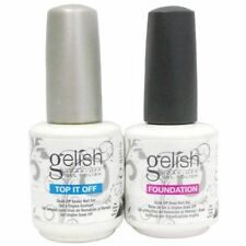 Gelish Dynamic Duo Soak-Off Gel Nail Polish Foundation Base and Top Sealer 15 mL