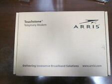 Arris Telephony Modem Model TM602G/115 with Battery Backup