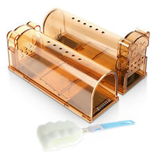 Rodent Mouse Humane Live Trap Hamster Cage Mice Rat Control Catcher Bait 2 Pack