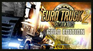 Euro Truck Simulator 2 Gold Edition Steam | Steam Key | PC | Digital | Worldwide